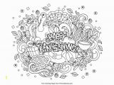 Adult Coloring Pages to Color Online for Free Free Thanksgiving Coloring Pages for Kids