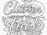 Adult Cuss Word Coloring Pages Beautiful Printable Coloring Pages for Adults Picolour