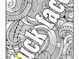 Adult Cuss Word Coloring Pages Pinterest