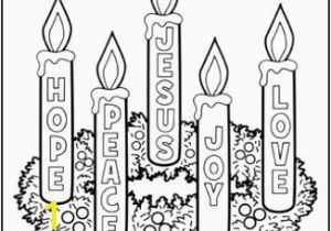 Advent Kids Coloring Pages 16 Advent Wreath Colouring Page