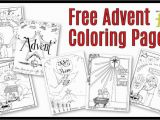 Advent Kids Coloring Pages Free Christmas Coloring Pages for Childrens Church – Pusat Hobi