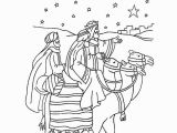 Advent Kids Coloring Pages the Journey Of the Three Wise Men Coloring Page