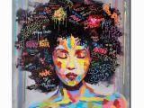 African American Wall Murals Portrait Wall Art Abstract Nude American Women African Wall Art