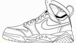 Air Jordan Coloring Pages Nike Air Jordan Coloring Page Shoes