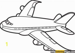 Air Plane Coloring Pages Simple Airplane Coloring Pages Pdf Pinterest