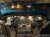 Airplane Cockpit Wall Mural Dash 8 200 Flight Deck Wall Mural • Pixers • We Live to Change