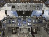 Airplane Cockpit Wall Mural Nasa Shuttle Cockpit Outer Space Easy Up Wall Mural Size Choice