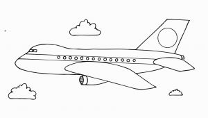 Airplane Coloring Pages for Preschool Free Printable Airplane Coloring Pages for Kids