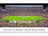 Alabama Football Wall Murals Alabama Crimson Tide Football 50 Yard Line 13×40 Unframed