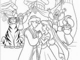 Aladdin and Jasmine Coloring Pages 27 Aladin Coloring Pages
