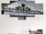 Album Cover Wall Murals for Living Room Wall Art 5 Panel Canvas Gate Of