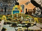 Album Cover Wall Murals Led Zeppelin Collage their Album Covers by Rochafeller