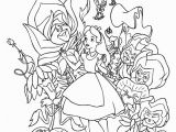 Alice In Wonderland Coloring Pages 2010 Alice In Wonderland Coloring Pages From Disney