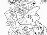 Alice In Wonderland Trippy Coloring Pages Trippy Alice In Wonderland Coloring Pages at Getcolorings