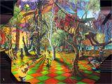 Alice In Wonderland Wall Mural Alice In Wonderland Mural