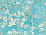 "Almond Blossom Wall Mural Van Gogh Blossoming Almond Trees 33 X 20 8"" Floral and"