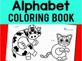 Alphabet Coloring Book for Preschoolers Alphabet Coloring Book