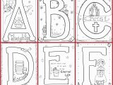 Alphabet Coloring Pages Letter G Bible Alphabet Coloring Pages Free