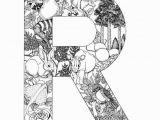 Alphabet Coloring Pages Letter N R 698—903