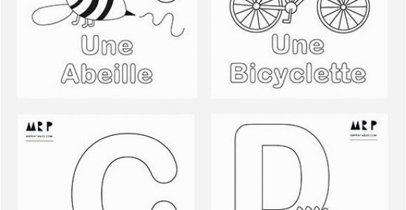Alphabet Coloring Pages Mr Printables French Alphabet Coloring Pages Mr Printables