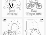 Alphabet Coloring Worksheets for Kindergarten French Alphabet Coloring Pages Mr Printables