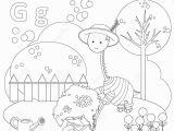 Alphabet Colouring Worksheets for Kindergarten Coloring Page for Kids Alphabet Set Letter G Stock