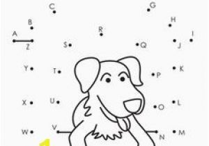 Alphabet Connect the Dots Coloring Pages Free Printable Dot to Dot Pages Connect the Dots