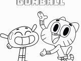Amazing World Of Gumball Coloring Pages Gumball and Anais the Amazing World Gumball Coloring