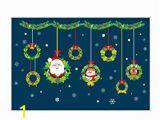 Amazon Christmas Wall Murals Amazon top Of top Store Christmas Wall Stickers Xmas