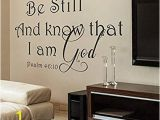 Amazon Wall Stickers and Murals Amazon Wall Decals Mural Decor Vinyl Sticker Be Still