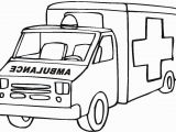 Ambulance Coloring Pages to Print Activities