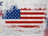 American Flag Wall Mural Custom 3d Wallpaper Non Woven Mural American Flag Retro Car Wallpaper Painting 3d Wall Room Murals Wallpaper High Resolution Wallpapers Free