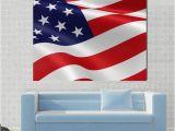 American Flag Wall Mural Patriotic Usa American Flag 1 2 3 4 & 5 Piece Multi Panel