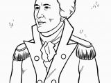 American Revolutionary War Coloring Pages Revolutionary War Alexander Hamilton Coloring Page