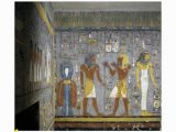 Ancient Egypt Murals Wall Egypt tomb Of Ramses I Mural Painting Of Pharaoh and Ma at Fering Wine to Nefertem