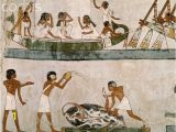 Ancient Egypt Murals Wall Egyptian Mural Paintings From the tomb Of Menna