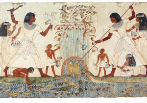 Ancient Egypt Murals Wall Pin On Home Decor