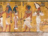 Ancient Egyptian Wall Murals See Stunning S Of King Tut S tomb after A Major Restoration