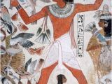 Ancient Egyptian Wall Murals tomb Of Nebamun thebes Egypt 18th Dynasty C1350 Bc Amod