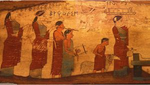 Ancient Greek Murals Africans In Ancient Greek Art