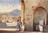 Ancient Greek Wall Murals Reading the Writing On Pompeii S Walls History