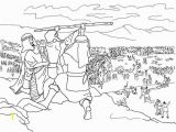 Ancient israel Coloring Pages Ancient israel Coloring Pages Beautiful israelites Battle Against