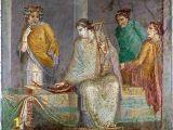 Ancient Roman Murals Akg Anonymous Römische Wandmalerei 105 0 X 95 0 Cm