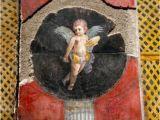 Ancient Roman Murals Fresco Cupid From Pompeii Pompeii
