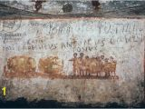 Ancient Rome Wall Murals the Coopers Cubiculum Of the Bottai Fresco Roman 4th