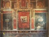 Ancient Rome Wall Murals Third Style Fresco House Of Marcus Lucretius Fronto