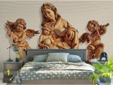Angel Murals for Walls 3d Stereoscopic Simple Modern Style Wallpaper Roll Hd Angel 3d Mural Wallpaper Tv Backgroud Bedroom Home Decor Natural Wallpapers Nature Desktop