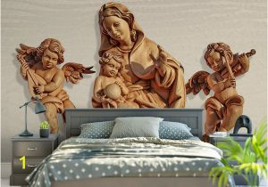 Angel Murals for Walls 3d Stereoscopic Simple Modern Style Wallpaper Roll Hd Angel 3d Mural Wallpaper Tv Backgroud Bedroom Home Decor Natural Wallpapers Nature Desktop