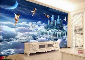 Angel Murals for Walls Beibehang Customized Mural Paintings Creative Dreams Angel