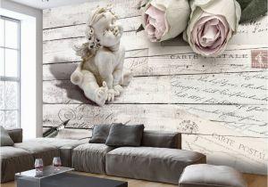 Angel Murals for Walls Vlies Fototapete Tapeten Xxl Wandbilder Tapete Vintage Engel